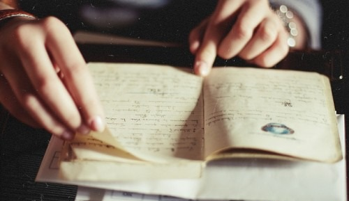 Перечитывать дневник нужно