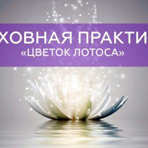 Духовная практика «Цветок лотоса»