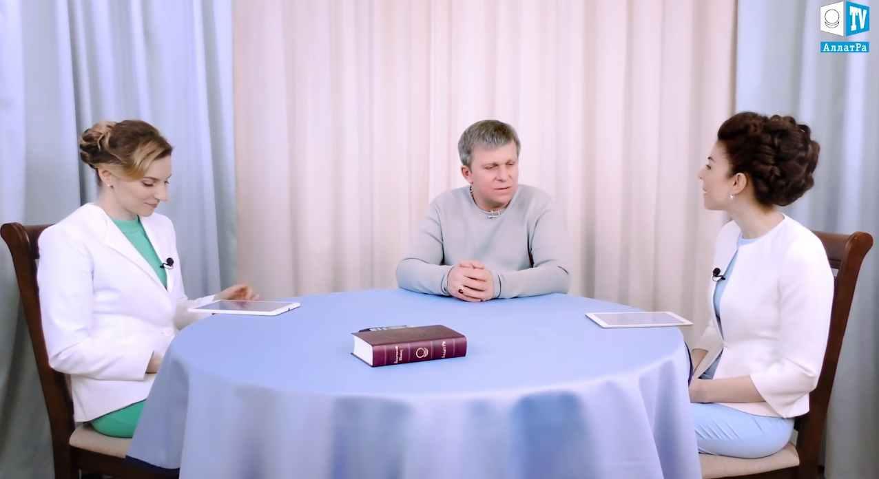 От атеиста к святости. Передача Аллатра ТВ с Игорем Михайловичем Даниловым