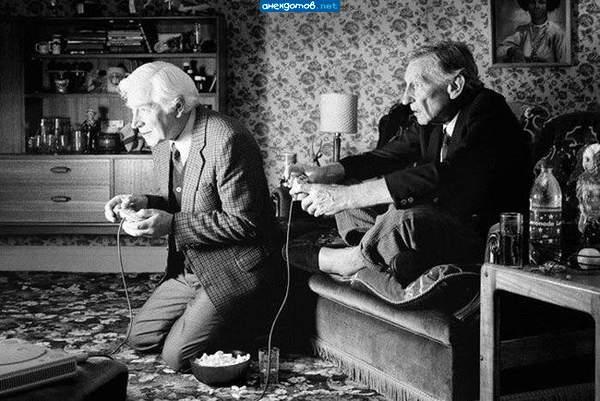 игроманами являются все - даже старики