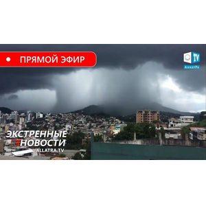 Климат→ Мы на грани? Серия торнадо в США. Штормы в Европе. Наводнения, оползни в Бразилии, Индонезии